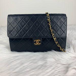 Chanel vintage single flap bag